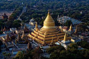 Shwezigon Pagoda Temple Myanmar  - yves_alarie / Pixabay