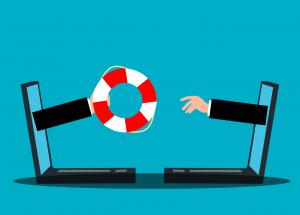 Help Support Lifebuoy Businessman  - mohamed_hassan / Pixabay