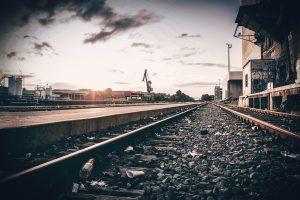 Railroad Port Channel Sunset  - Fabio_Mchls / Pixabay